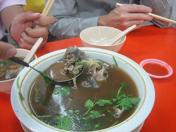 La soupe de tortue à Shanghai